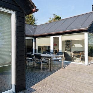 Design ideas for a scandinavian deck in Other.