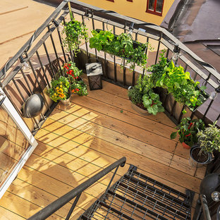 Example of a danish deck design in Stockholm