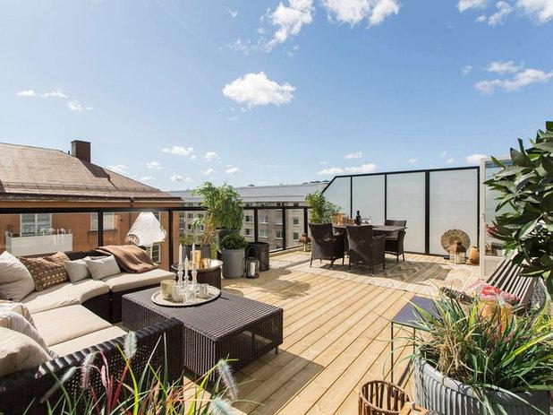 Contemporáneo Terraza y balcón by MIG Design