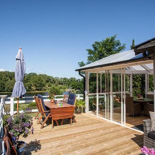 Idéer för lantliga terrasser