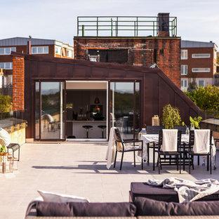 Inspiration för mellanstora skandinaviska terrasser