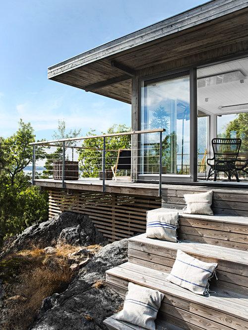 Foto e idee per patii e portici patio o portico scandinavo for Idee portico florida