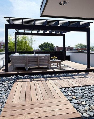 Moderne Terrasse by Dan Art Boligdesign