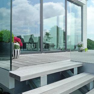 Design ideas for a scandinavian terrace in Other.