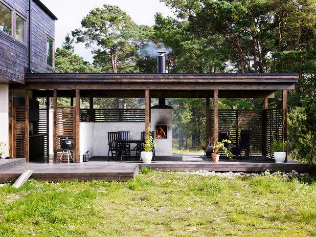 schweden liebens luftig eine indoor outdoor k che auf gotland. Black Bedroom Furniture Sets. Home Design Ideas