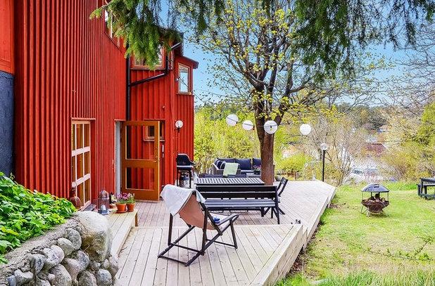 Skandinavisk Terrasse by Klockare Fastighetsmäkleri