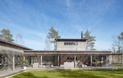 Houzz Tour: Familien med 5 børn byggede et klimavenligt træhus
