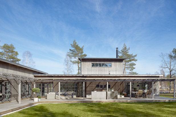 Skandinavisk Trädäck by m.arkitektur