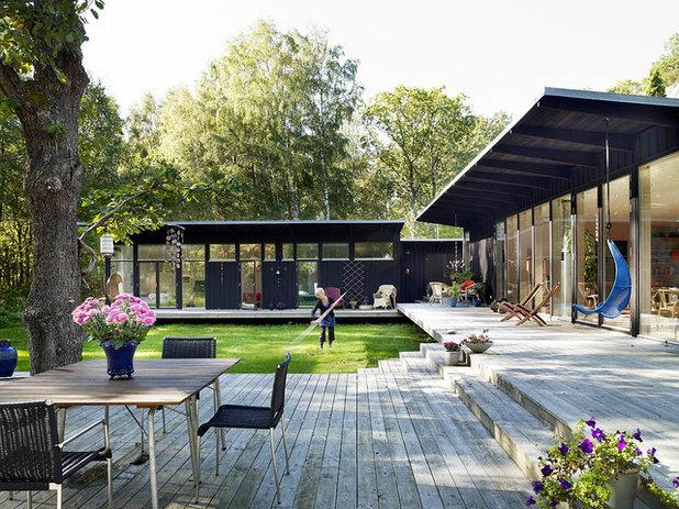 Skandinavisch Terrasse by Wahlström & Steijner Arkitekter AB
