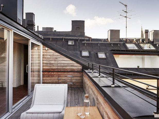 Balkon dekorieren: 8 schnelle styling ideen für den coolen scandi look