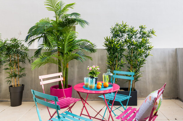 Scandinave Terrasse et Patio by Bernie - Home-Staging Experts