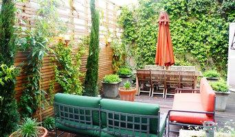 Aménagement d'une terrasse urbaine