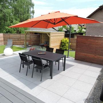 Aménagement de terrasse et espace détente