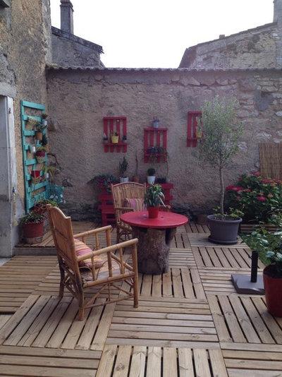 16 id es d co pour personnaliser sa terrasse moindre co t. Black Bedroom Furniture Sets. Home Design Ideas