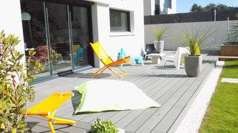 Aménager un jardin d'une résidence au design très contemporain