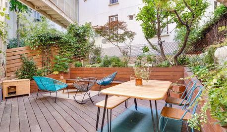 Avant/Après : Verdure et élégance pour un appartement à Paris