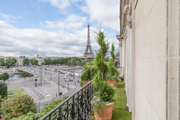 Современная классика Терраса Appartement de Luxe - Triangle d'Or, Paris