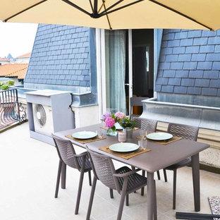 Idées déco pour un toit terrasse contemporain de taille moyenne.