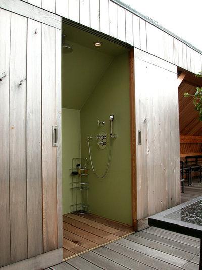 Contemporary Deck by JM ROUSSEAU - Architecte DLPG