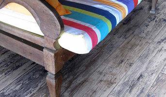 Carrelage imitation parquet bois flotté