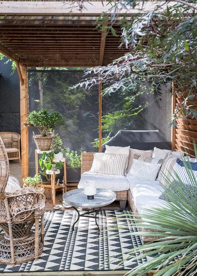 Éclectique Terrasse en Bois by Jours & Nuits