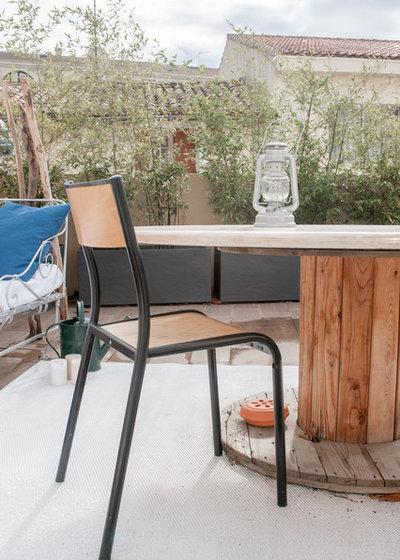 Contemporain Terrasse en Bois by Jours & Nuits