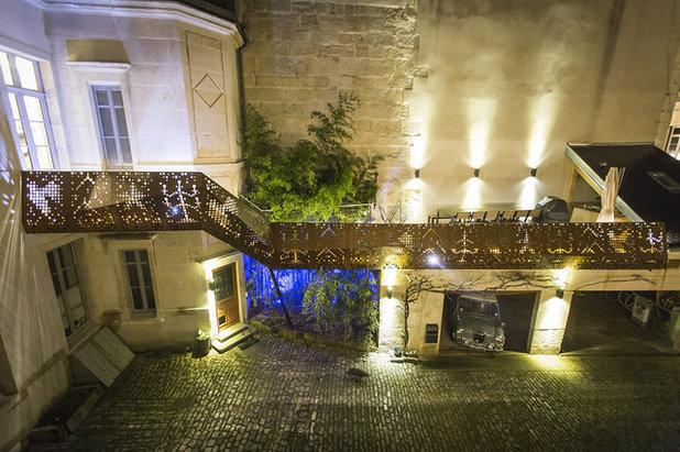 Contemporain Terrasse en Bois by GODART + ROUSSEL ARCHITECTES