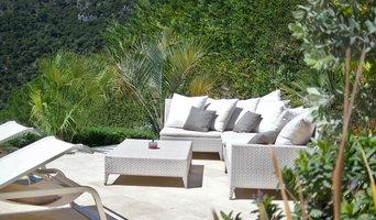 Création d'une terrasse et jardin autour d'une piscine