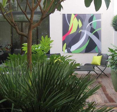 Contemporary Terrace d. garden collection
