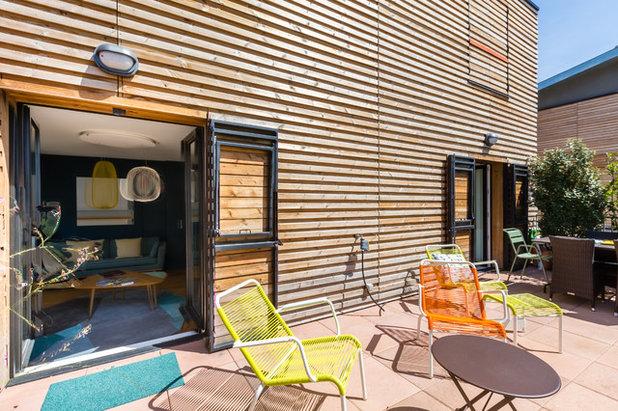 Rétro Terrasse et Patio by Expression Architecte Intérieur