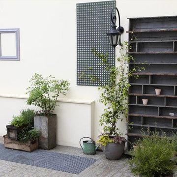 Décoration d'une terrasse à Paris