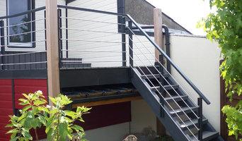 escaliers exterieurs et garde corps