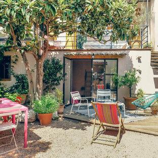 Aménagement d'une terrasse romantique.