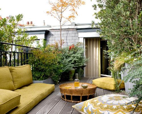 Photos et id es d co de terrasses exotiques - House beautiful small spaces photos ...