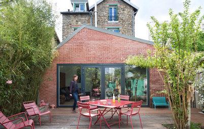 Architecture : Une extension en briques aux portes de Paris