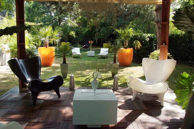 Contemporain Terrasse en Bois by David Bitton Architecte /db DESIGN