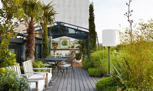 Contemporary Patio by CKA PARIS