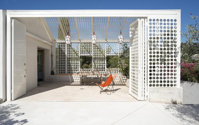 Contemporain Terrasse et Patio by Marion Bernard Architectes