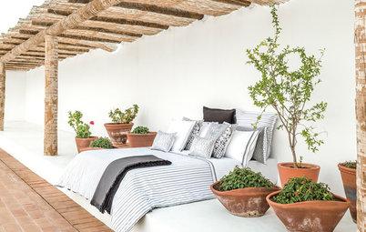 Un lit d'extérieur pour le farniente, c'est permis !