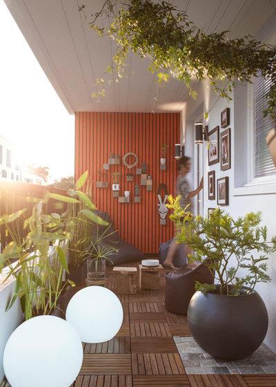 20 id es d 39 am nagement pour un petit balcon urbain. Black Bedroom Furniture Sets. Home Design Ideas