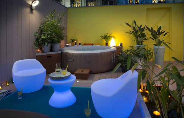 outdoor le spa gonflable pour ou contre. Black Bedroom Furniture Sets. Home Design Ideas