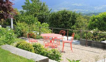 JARDIN CONTEMPORAIN & NATURE / 3500 m2 / AIN (01) / A proximité de GENEVE