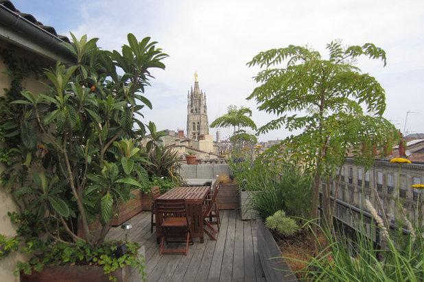 phototh que 30 toits terrasses fran ais en mettent plein la vue. Black Bedroom Furniture Sets. Home Design Ideas