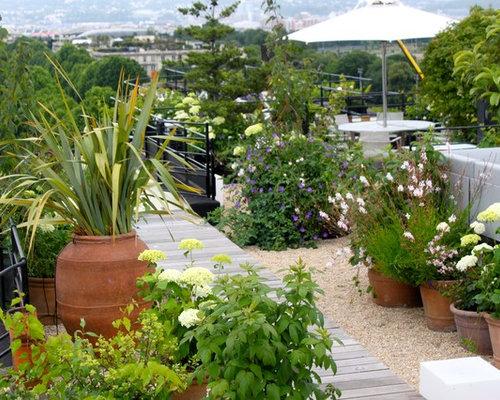 Ideas para terrazas dise os de terrazas rom nticas con for Jardin xavier