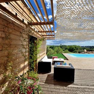 mediterrane terrasse montpellier ideen design bilder houzz. Black Bedroom Furniture Sets. Home Design Ideas
