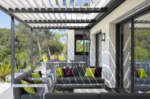 comment ombrager un balcon. Black Bedroom Furniture Sets. Home Design Ideas