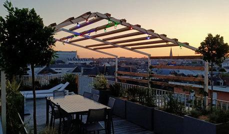 Avant/Après : Les soirées se prolongent sur une terrasse à Nantes