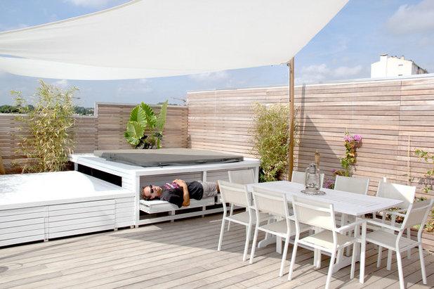Décryptage : Deux toits-terrasses bien aménagés pour l\'été