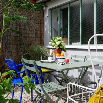 Le bureau au fond du jardin