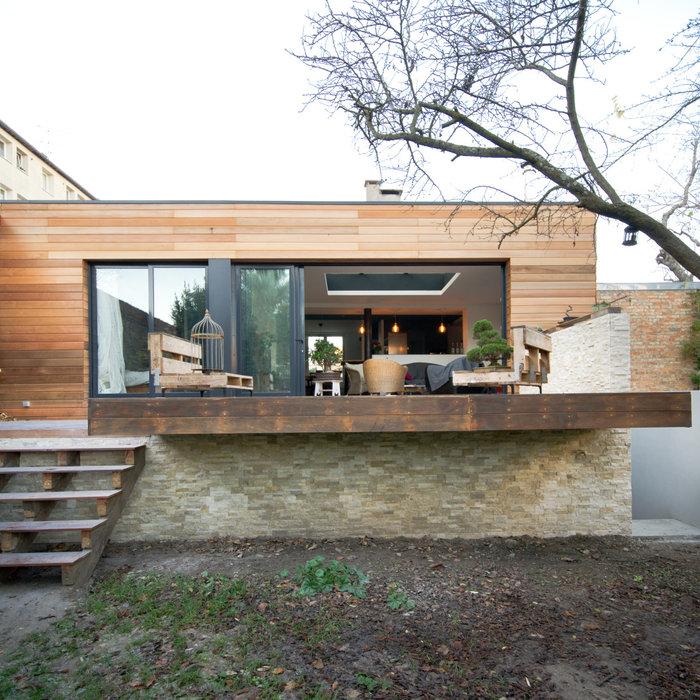 Extension Maison A+V